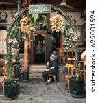 Small photo of Al Nawfara coffee shop in Ancient City of Damascus (Syrian Arab Republic) January 11, 2010