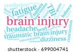 brain injury word cloud on a...   Shutterstock .eps vector #699004741