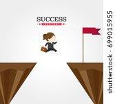 success vector   Shutterstock .eps vector #699015955