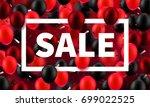 stock vector illustration sale  ... | Shutterstock .eps vector #699022525