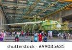 ulyanovsk  russia. 19.08.2017.... | Shutterstock . vector #699035635