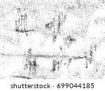 distress vector overlay grunge... | Shutterstock .eps vector #699044185