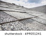 composite roof shingles | Shutterstock . vector #699051241