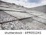 composite roof shingles | Shutterstock . vector #699051241