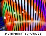 festive bokeh background with