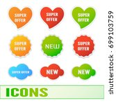 special offer.  vector... | Shutterstock .eps vector #699103759