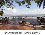 ruzizi tented lodge  rwanda  ...   Shutterstock . vector #699113947