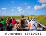 usa. florida. miami. august... | Shutterstock . vector #699114361