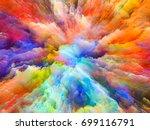 color splash series. abstract... | Shutterstock . vector #699116791