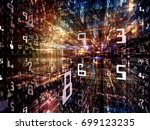 digital city series. abstract... | Shutterstock . vector #699123235