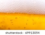 orange beer and white froth... | Shutterstock . vector #69913054