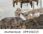 industrial loading equipment.... | Shutterstock . vector #699146215