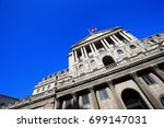bank of england for your travel ...   Shutterstock . vector #699147031