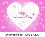 vector valentine background....   Shutterstock .eps vector #69917233