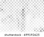 grunge halftone black and white.... | Shutterstock . vector #699192625