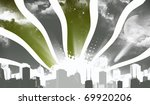 city night sky | Shutterstock . vector #69920206