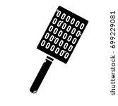 contour slice kitchen utensil...   Shutterstock .eps vector #699229081