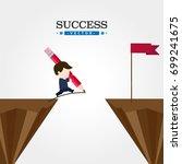 success | Shutterstock .eps vector #699241675