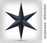 Volume Six Pointed Black Star ...