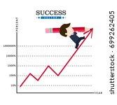 success | Shutterstock .eps vector #699262405