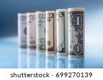 dollar. american dollar... | Shutterstock . vector #699270139