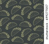 Seamless Pattern With Mexican...