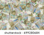 financial background made of... | Shutterstock . vector #699280684