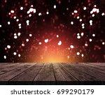 3d render of a rustic wooden...   Shutterstock . vector #699290179