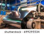 bopp films manufacturing | Shutterstock . vector #699295534