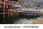 san perdo la laguna  guatemala  ... | Shutterstock . vector #699308065