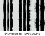 black and white seamles vector... | Shutterstock .eps vector #699320341