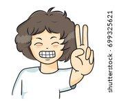 "the vector illustration ""boy... | Shutterstock .eps vector #699325621"