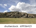 the saqsaywaman archaeological...   Shutterstock . vector #69936415