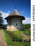 romania  bucovina  voronet. 15... | Shutterstock . vector #699384841