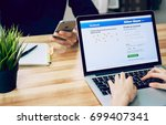 bangkok  thailand   august 20 ...   Shutterstock . vector #699407341