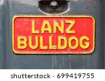 an image of a lanz bulldog logo ... | Shutterstock . vector #699419755
