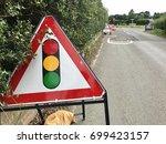 County Road Traffic Light Road...