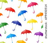 vector seamless pattern with...   Shutterstock .eps vector #699450514