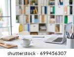 background image of empty... | Shutterstock . vector #699456307