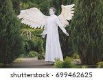 statue. | Shutterstock . vector #699462625