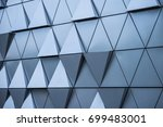 abstract architectural pattern  ... | Shutterstock . vector #699483001
