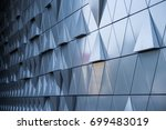 abstract architectural pattern  ... | Shutterstock . vector #699483019