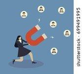 business concept of... | Shutterstock .eps vector #699491995