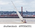 team sanya catching the breeze...   Shutterstock . vector #699506551