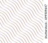 vector seamless pattern ... | Shutterstock .eps vector #699509647