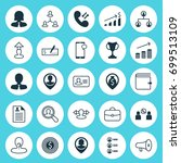 human icons set. collection of... | Shutterstock .eps vector #699513109