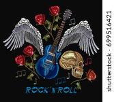 rock n roll embroidery  rock...