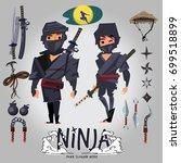 Ninja Male And Female Characte...