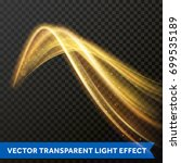 light multi line tracing effect ... | Shutterstock .eps vector #699535189