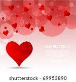 valentines background | Shutterstock .eps vector #69953890